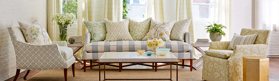 Kravet Inc This Fifth Generation Family Business Distributes Fabrics Wallcoverings Furniture And Carpets