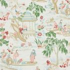 176773 Yangtze River Aqua Schumacher Fabric