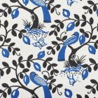 177470 Olive Tree Black Blue Schumacher Fabric