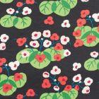 177482 Saku Soft Black Schumacher Fabric