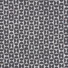 177360 Mezza Luna Black Schumacher Fabric