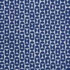177363 Mezza Luna Blue Schumacher Fabric