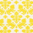 177301 Regalia Yellow Schumacher Fabric