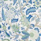 177372 Arborvitae Viridian Blue Schumacher Fabric