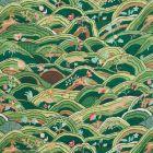 177381 Rolling Hills Green Schumacher Fabric
