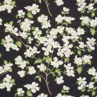 177412 Blooming Branch Black Schumacher Fabric