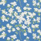 177411 Blooming Branch Blue Schumacher Fabric