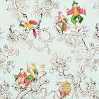 177420 Chinoiserie Moderne Aqua Schumacher Fabric