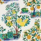 177330 Citrus Garden Indoor Outdoor Primary Schumacher Fabric