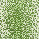 177322 Iconic Leopard Indoor Outdoor Green Schumacher Fabric