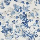 177291 Bouquet Chinois Porcelain Schumacher Fabric