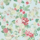 177292 Bouquet Chinois Sky Schumacher Fabric