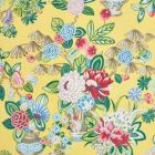 177290 Bouquet Chinois Yellow Schumacher Fabric
