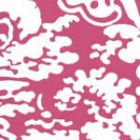 Quadrille San Marco Reverse Magenta on White 2335-36WP Wallpaper