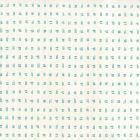 AP880-03AWP Tate Turquoise on Almost White Quadrille Wallpaper