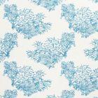 175364 Great Barrier Reef Blue Schumacher Fabric