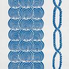 5009430 Coralline Blue Schumacher Wallpaper