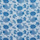 177790 Lotus Batik Indigo Schumacher Fabric