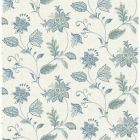 2657-22205 Georgette Denim Jacobean Brewster Wallpapers