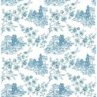 2657-22219 Laure Blueberry Toile Brewster Wallpapers