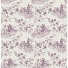 2657-22222 Laure Purple Toile Brewster Wallpapers