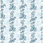 2657-22252 Charlise Teal Floral Brewster Wallpapers