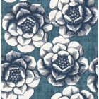 2763-24238 Fanciful Blue Floral Brewster Wallpaper