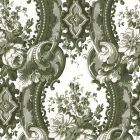 2763-24215 Dreamer Green Damask Brewster Wallpaper