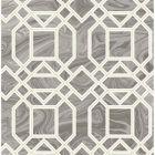 2763-24245 Daphne Grey Trellis Brewster Wallpaper
