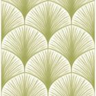 2763-24229 Dusk Green Frond Brewster Wallpaper