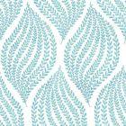 2656 004059 Arboretum Aqua Fern Brewster Wallpaper