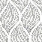 2656 004062 Arboretum Fog Leaves Brewster Wallpaper