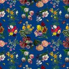 WNM 0004FLOR FLORA & FAUNA Blue Scalamandre Wallpaper