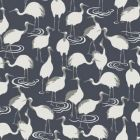 DR6355 Winter Cranes York Wallpaper