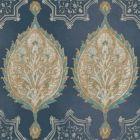 VE7021 Henna Palm Ogee York Wallpaper