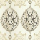 VE7024 Henna Palm Ogee York Wallpaper