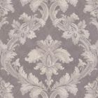 2619-M7055 Pavia Lilac Scroll Damask Brewster Wallpaper