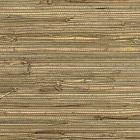 2732-80084 ANHUI Brown Grasscloth Brewster Wallpaper