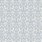 492-2005 Abelle Blue Damask Swirl Brewster Wallpaper