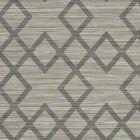 2765-BW40405 Vana Grey Woven Diamond Brewster Wallpaper