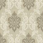 2765-BW40915 Adela Neutral Twill Damask Brewster Wallpaper