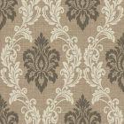 2765-BW40101 Adela Light Brown Twill Damask Brewster Wallpaper