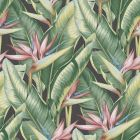 PS40201 ARCADIA Pink Banana Leaf Brewster Wallpaper