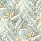 PS40202 ARCADIA Blueberry Banana Leaf Brewster Wallpaper