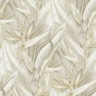 PS40205 ARCADIA Beige Banana Leaf Brewster Wallpaper
