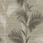 PS40306 AWAY ON HOLIDAY Brown Palm Brewster Wallpaper