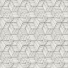 PS41400 INTERTWINED Grey Geometric Brewster Wallpaper