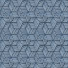 PS41402 INTERTWINED Blue Geometric Brewster Wallpaper