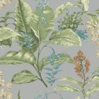 PS41808 MAUI Grey Botanical Brewster Wallpaper