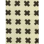 4130-16 CROSS CHECK Brown on Tint Quadrille Fabric